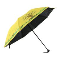 Best 21 Inches Folding Sun Rain Umbrella 190T pongee With Beautiful Pattern wholesale