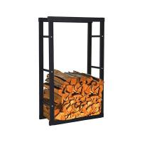 Buy cheap Galvanized pipe Firewood Rack-HFR-1004 from wholesalers