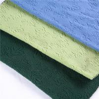 Buy cheap POLAR FLEECE FABRIC Solid Color One Side Anti Pilling polyester jacquard fabric from wholesalers