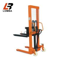 China 2 Ton Manual Forklift Hydraulic Pallet Stacker on sale