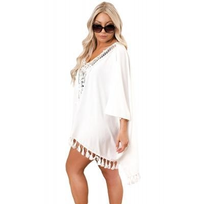 Cheap Got It Covered Crochet Swim Cover up #LC420095-1 for sale