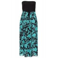 Best Black Turquoise Printed Beach Dress #LC42159-5 wholesale