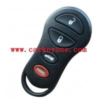 China Chrysler 4 button remote key cover on sale