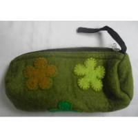 Buy cheap Handmade Felt Products Felt Pencil Case Purse from wholesalers