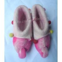 Best Handmade Felt Products Felt Elephant Design Shoes wholesale