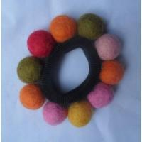 Best Handmade Felt Products Felt ball hairband wholesale