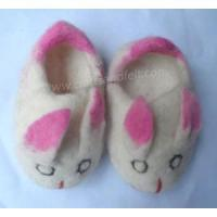 Best Handmade Felt Products Felt Rabbit Design Shoes wholesale