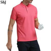 China Custom Simple Design Mens Golf Polo Dress Shirts on sale