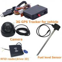 Buy cheap GPS Tracker 3G vehicle gps tracker fuel level camera photo from wholesalers