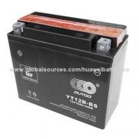Best Dry-charged Motorcycle MF Battery with 12V/10Ah Capacity, Measures 150 x 69 x 130mm wholesale