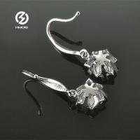 China Synthetic Diamond Earrings on sale