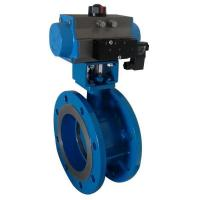 China Butterfly Valve Pneumatic Butterfly Valve with Solenoid Valve on sale