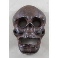 Buy cheap Cast Iron Rustic Wall Mounted Skull Bar Bottle Opener from wholesalers