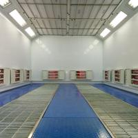 China Panel Beater Used Paint Spray Booths on sale