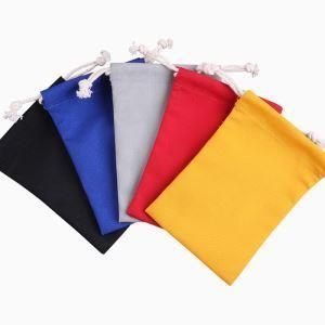 Cheap Cotton Drawstring Bags Small for sale