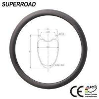 China 45mm Carbon Clincher Rim on sale