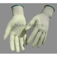 Best NMSAFETY 13g HPPE liner 3/4 coated water-based pu anti cut work glove wholesale