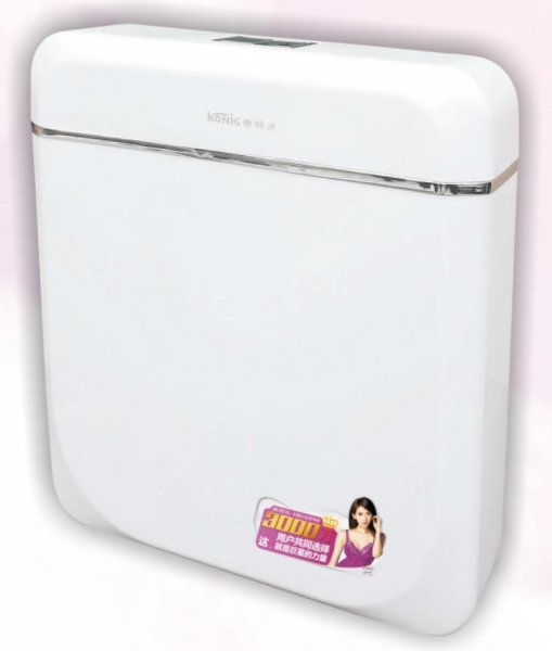 China Concealed Cistern Q3 ultra-thin water tank