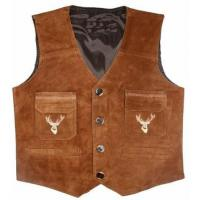 Best Bavarian Leather Vests SE-4029 wholesale