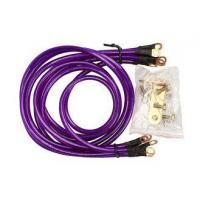 Universal 5-Point Grounding Wire Kit Cable (Purple)