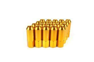 Cheap Universal Gold Alloy Spline Drive Lug NutsSuitable For All Kinds Of Car Wheels for sale