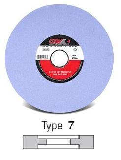 China Type 7 (Double Recessed Side) Grinding Wheels