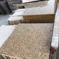 Best Granite Polished Haiti Gold Drill Yellow 26*26 Granite Stone Tiles For Exterior Wall wholesale