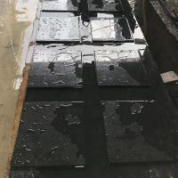 Best Granite Factory Polished India Absolute Black 10mm Thick 60*30 Granite Tile Price M2 wholesale
