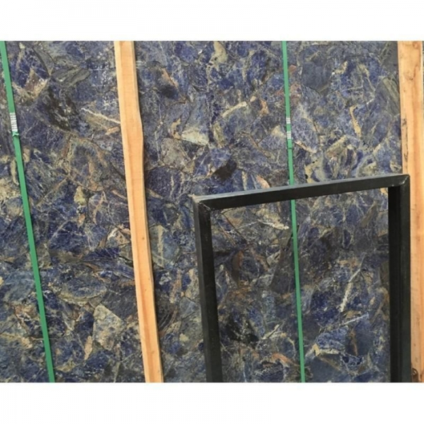 China Granite Azul Marble Azul Bahia Marble Blue Color Block Marble Slabs