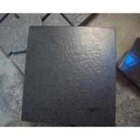 Best Granite Chinese G684 Black Granite Slabs Leather Finished wholesale