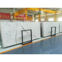 Buy cheap Marble Natural Stone Polished White Marble Tile,Factory Produced White Marble Floor For Bathroom from wholesalers