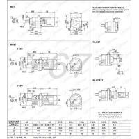 Best R67 RF67 RZ67 Helical gear units and helical geared motors wholesale