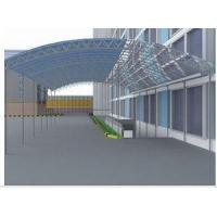 Buy cheap Fabricated Commercial Steel Factory Site Lightweight With Q235 commercial steel buildings from wholesalers