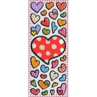 Best Children's & Baby's Gifts Heart Puffy Stickers wholesale