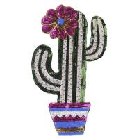 China Cactus Sew on Sequin Patches on sale