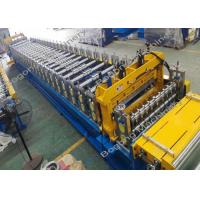 Best Roller Shutter Door Custom Roll Forming Machine / Equipment With Cr12 Cutting Tool wholesale