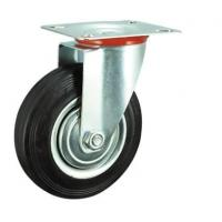 China 4 Inch Swivel Rubber Caster Wheels on sale
