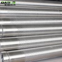 Best Perforated Metal Oil Well Steel Pipes wholesale