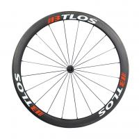 China WRC-45 700C 45mm deep clincher carbon fiber wheels for cyclocross bike on sale