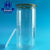 Buy cheap 53OZ 1500ML 401# Clear Popcorn Packaging Containers Cans PET Plastic Food Canning from wholesalers