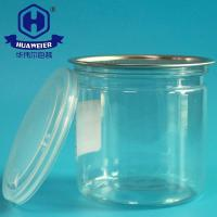 Buy cheap 12OZ 360ML 307# Not Hurt The Hand Peel Off End Clear Packaging Food PET Cans from wholesalers