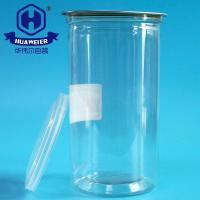 Buy cheap 25OZ 700ML 307# Round Clear Tube Leak Proof Plastic PET Canned Packaging Cans from wholesalers
