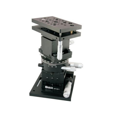 Cheap Assembled XYZ and Rotary/Tilting(6 Axis) Positioning Stages LSSZ-06-01 for sale