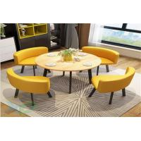 Buy cheap Simple Coffee Shop Tables And Chairs from wholesalers