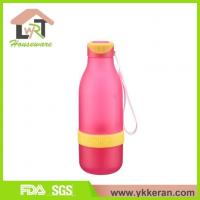 China Water Bottle With Juice Squeezer on sale