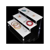 Buy cheap Customized Acrylic Jewelry Display Stand / Acrylic Makeup Showcase from wholesalers