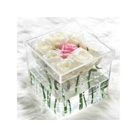 Buy cheap Customized Acrylic Flower Box 9 Holes from wholesalers