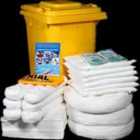 China 80L/21.5Gal spill kits for trucks oil absorbent mats spills kits on sale