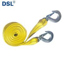 Best Car Heavy Duty Double-deck Cable Towing Pull Rope Emergency Strap Trailer Belt wholesale
