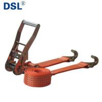 Best Cargo Lashing Tie Down Ratchet Straps with Various Fittings and CE Certificate wholesale